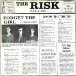 "RISK, THE - Forget The Girl - 7"" + P/S (VG+/EX) (M)"