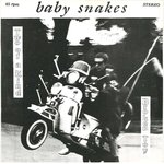 "BABY SNAKES - Broken Toy / Two Of A Kind - 7"" + P/S (VG+/VG+) (M)"