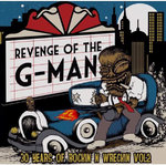 V/A - Revenge Of The G-Man: 30 Years Of Rockin' N Wreckin' #2 (Turquiose vinyl) LP (EX/M) (P)