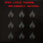 STIFF LITTLE FINGERS -  Inflammable Material LP (VG/VG+) (P)
