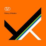 ORCHESTRAL MANOEUVRES IN THE DARK - History Of Modern (ORANGE VINYL) DOUBLE LP (NEW) (P)