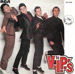 "V.I.P.'S, THE - Quarter Moon 7"" (+ PORTUGUESE P/S) (EX/EX) (M)"