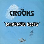 "CROOKS, THE - Modern Boys 7"" (+ PORTUGUESE P/S) (EX-/EX) (M)"