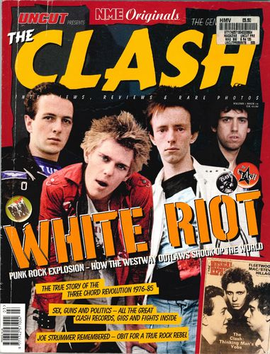 CLASH, THE - Uncut Volume 1, Issue 14 MAGAZINE (EX)