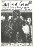 SNIFFIN' GLUE - Issue 7 February '77 FANZINE (EX)
