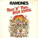"RAMONES, THE - Rock 'N' Roll High School 7"" + P/S (EX-/EX) (P)"