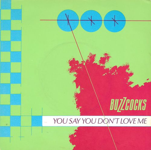 "BUZZCOCKS, THE - You Say You Don't Love Me (DEMO COPY) 7"" + P/S (EX/EX) (P)"
