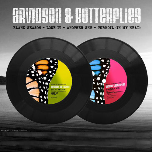 "ARVIDSON & THE BUTTERFLIES - Blank Season-7"" (NEW) (M)"