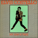 ELVIS COSTELLO & THE ATTRACTIONS - My Aim Is True - LP (VG/POOR) (P)