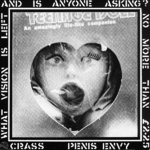 CRASS -  Penis Envy LP (EX/VG) (P)