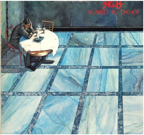 SKIDS, THE - Scared To Dance - LP (VG+/VG+) (P)