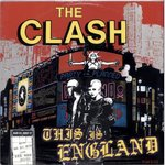"CLASH, THE - This Is England - 12"" + P/S (EX/EX-) (P)"