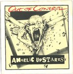 "ANGELIC UPSTARTS, THE - Out Of Control - 7"" + P/S (VG+/EX) (P)"