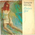 "SIMPLE MINDS - Chelsea Girl - 7"" + P/S (VG/VG) (P)"