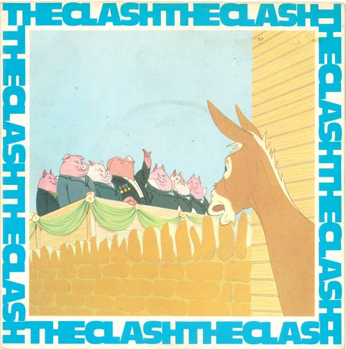 "CLASH, THE - English Civil War - 7"" + P/S (VG+/VG+) (P)"