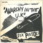 "SEX PISTOLS, THE - Anarchy In The UK - 7"" (+ FRENCH P/S) (VG-/VG-) (P)"