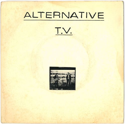 "ALTERNATIVE T.V. - Life - 7"" + P/S (VG/EX-) (P)"