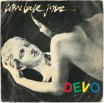 "DEVO - Come Back Jonee (GREY VINYL) - 7"" + P/S (VG-/VG+) (P)"