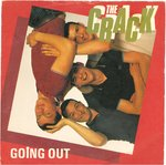 "CRACK, THE - Going Out 7"" + P/S (VG+/EX) (P)"