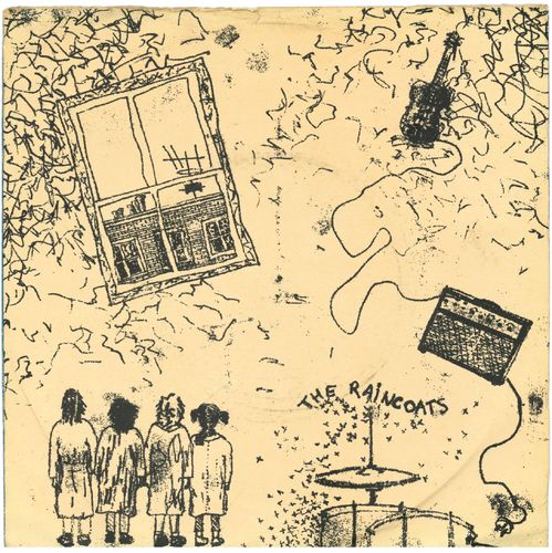 "RAINCOATS, THE - Fairytale In The Supermarket 7"" + P/S (VG/EX-) (P)"