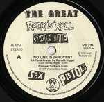 "SEX PISTOLS, THE - No One Is Innocent (A Punk Prayer By Ronald Biggs) / My Way 7"" (-/POOR) (P)"