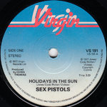 "SEX PISTOLS, THE - Holidays In The Sun 7"" (-/EX) (P)"