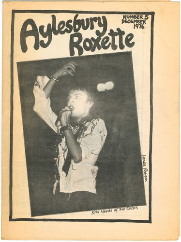 AYLESBURY ROXETTE - #5 December 1976 NEWSPAPER (EX) (D1)