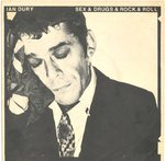 "DURY, IAN - Sex & Drugs & Rock & Roll 7"" (+ GERMAN P/S) (VG/EX) (P)"