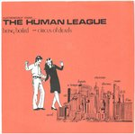 "HUMAN LEAGUE, THE - Being Boiled 7"" + P/S (EX/EX) (P)"