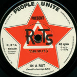 "RUTS, THE - In A Rut 7"" (-/EX) (P)"