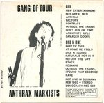 GANG OF FOUR - Anthrax Marxists LP (VG/EX-) (P)