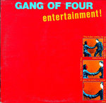GANG OF FOUR - Entertainment LP (VG+/VG+) (P)