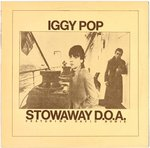 POP, IGGY Featuring DAVID BOWIE ‎– Stowaway D.O.A. LP (EX/EX-) (P)