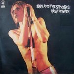 POP, IGGY & THE STOOGES - Raw Power LP (EX/EX)