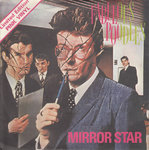 "FABULOUS POODLES, THE - Mirror Star (PINK VINYL) 7"" + P/S (EX/EX) (M)"