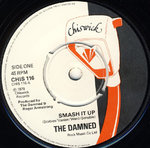 "DAMNED, THE - Smash It Up 7"" (-/EX) (P)"