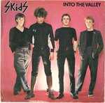 "SKIDS, THE - Into The Valley (WHITE VINYL) - 7"" + P/S (VG/VG+) (P)"