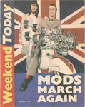 MODS MARCH AGAIN - Weekend Today 21/01/1995 NEWSPAPER (EX)