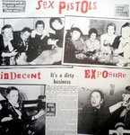 SEX PISTOLS, THE -  Indecent Exposure (It's A Dirty Business) LP (VG+/VG) (P)