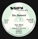 "DAMNED, THE - New Rose / Neat Neat Neat (PROMO) 7"" (-/EX) (P)"