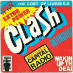 "CLASH, THE - The Cost Of Living E.P - 7"" + P/S (VG/VG-) (P)"