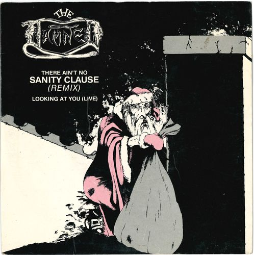 "DAMNED, THE - There Ain't No Sanity Clause EP 7"" + P/S (EX/EX) (P)"