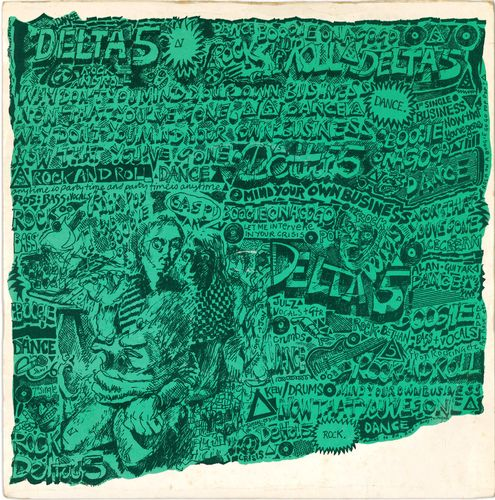 "DELTA 5 - Mind Your Own Business - 7"" + P/S (VG+/VG+) (P)"