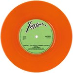 "X-RAY SPEX - The Day The World Turned Day-Glo (ORANGE VINYL) 7"" (-/EX-) (P)"