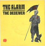"ALARM, THE - The Deceiver (CLEAR VINYL) - 7"" + P/S (EX/EX) (P)"