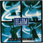 "ALARM, THE - Rain In The Summertime - 7"" + P/S (EX/VG+) (P)"