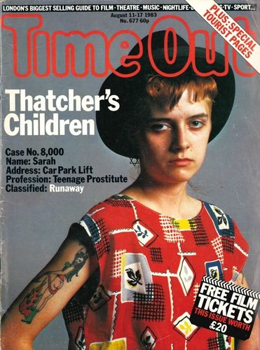 TIME OUT - # 677 - August 11-17 1983 MAGAZINE (EX)