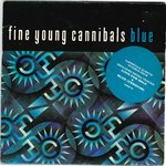 "FINE YOUNG CANNIBALS - Blue -Double 7"" + P/S (VG+/EX-) (M)"