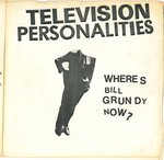 "TV PERSONALITIES - Where's Bill Grundy Now? EP - 7"" + P/S (VG/VG+) (P)"