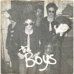 "BOYS, THE - I Don't Care - 7"" + P/S (VG+/VG+) (P)"